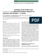 Anatomy and Physiology of the Human Eye Effects of Mucopolysaccharidoses Disease on Structure and Function_Journal