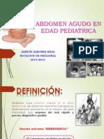 Abdomen Agudo PEDIATRIA