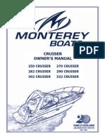 Monterey 322 Manual
