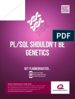 PL-SQL SHOULDN`T BE GENETICS