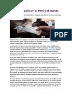 La Corrupción en El Perú y El Mundo