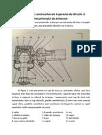 Elemente Constructive Ale Trapezului de Directie.