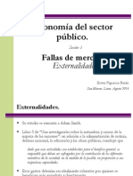 Sesión 3. Fallas de Mercado. Externalidades