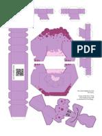 Stegosaurus Violet