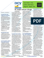 Pharmacy Daily for Mon 05 Jan 2015 - PBAC nods cancer drugs, 20% hospitalisations CVD, CKD, diabetes, Homeopathy vaccine claims 'misleading', Co-payment and safety net revisions, and much more