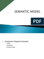 Materi Semantic Model