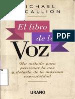 Michael Mc Callion - El Libro de La Voz