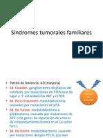 Síndromes Tumorales Familiares