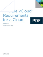 VMware VCloud Requirement 11Q1 White Paper