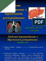 Sindrome Hepatopulmonar e Hipertension Portopulmonar