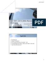 Training ISO 9001 2015 DIS Overview
