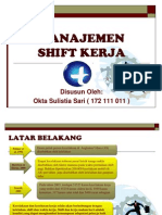 Ppt Shift Kerja - management shift kerja