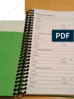 2015 Customizable Weekly Planner