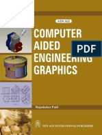 Computer Aided Engineering Graphics as Per the New Syllabus B Tech I Year of U P Technical University