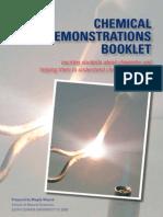 ECU Chemical Demos Booklet