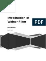 Weiner Filter