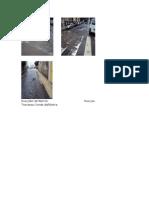Compilaçao de fotos de ruas em mau estado