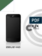 Celular ZEUZ-HD Economico y Funcional