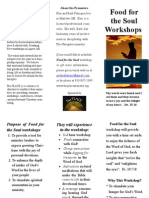 Food for the Soul Brochure 2014