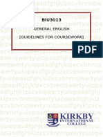Biu 3013 - General English