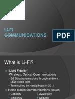 Li Fi Communications