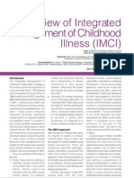 Imci Chart Booklet Up Date