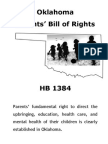 Oklahoma Parents' Bill of Rights 2015