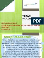 TERAPI MODALITAS