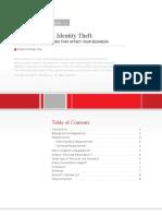 Data Security & Identity Theft