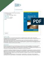 Manual de Optometría