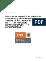Protocolo STPS 2012 Capacitacion