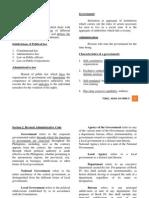 Summary Part 1 admin law