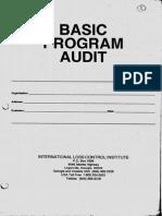 2. Basic Program Audit