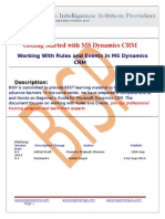 Rules and Events in MS Dynamics CRM