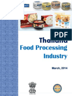 Final Report Market Survey Thailand Food Processing Industry March 2014