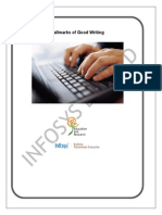 Hallmarks of Good Writing_learning Guide