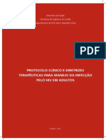 Protocolo Hiv