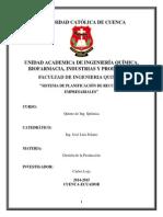Sistema de Planificacion de Recursos Empresariales