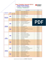 Final Exam Timetable SGS 2014-3 (UPDATED 17 Dec 2014)