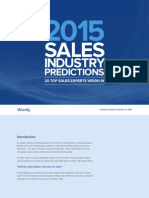 Top Sales Predictions 2015