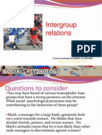 Intergroup Relations SP302