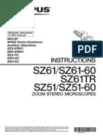 Olympus SZ-61TR Manual