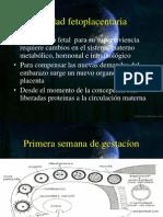 Unidad Fetoplacentaria Ginecologia
