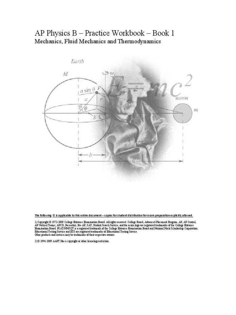 AP Physics Practice Workbook | Acceleration | Velocity