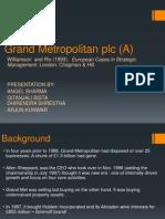 Grand Metropolitan Plc (a)