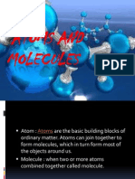 Atom and Molecules