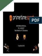 informe fcb prime time sport 2010