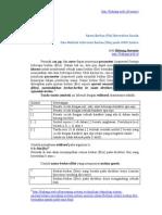Belajar Solaris : Berkas Bermakna Ganda dan Informasi berkas (file) pada UNIX Solaris OE