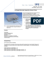 Capacitive sensor calibration
