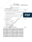 Class 7 ICSE English Sample Paper